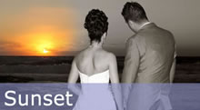 Paphos Wedding Sunset Photographs